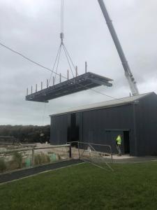 Installation of viewing platform