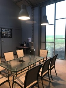 Lunch area or training space